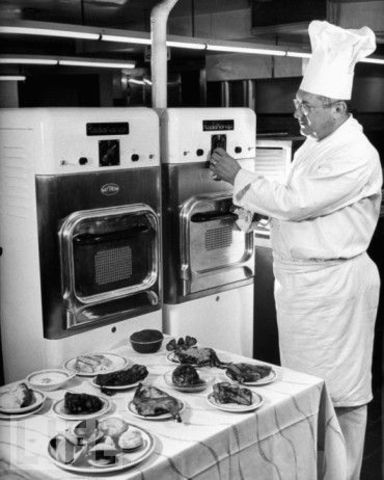 First Commercial Microwave