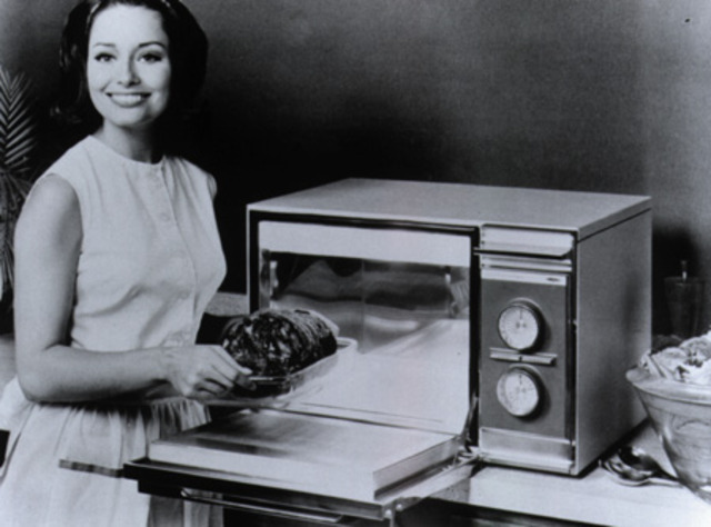 First Countertop Microwave Oven