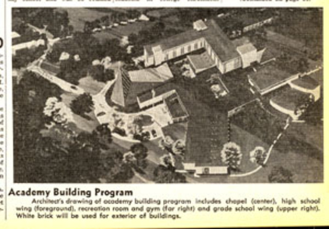 Construction at Academy of the Sacred Heart and Barat College