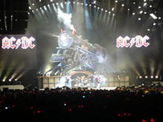 se da la formacion de la banda de hard rock AC/DC