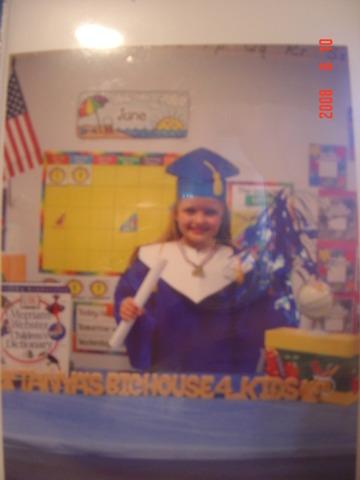 Graduation from preschool - Tanya's Big House 4 Kidz