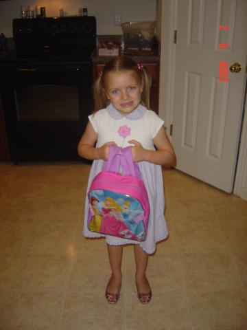 First day of kindergarten at Webster in St. Augustine