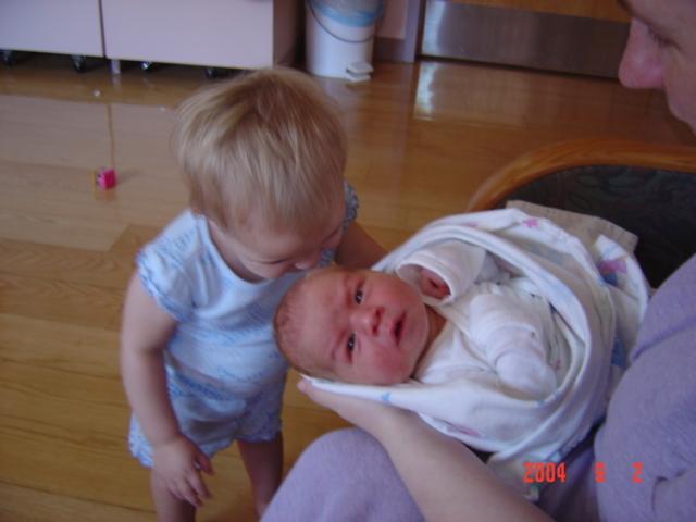 Aaron is born