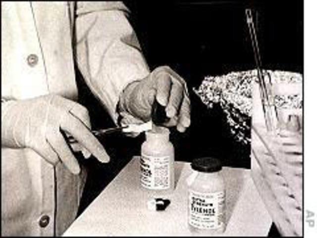 Realización de estudios a los productos retirados