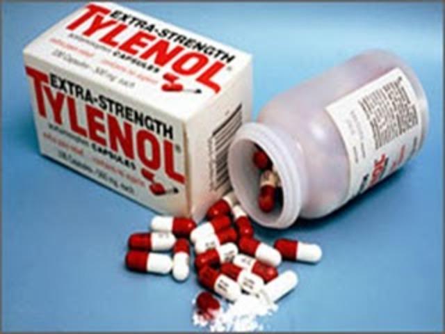 Se comunica evitar el consumo de Tylenol en cápsulas