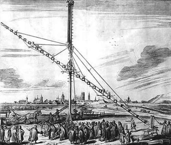 Télescope de 150 pieds de long