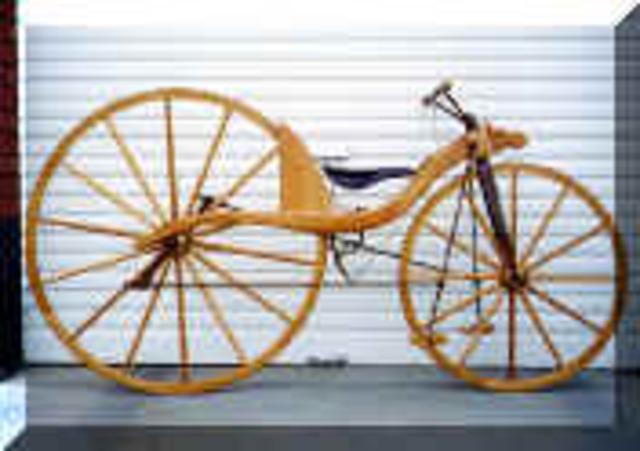 La bicyclette de Macmillan