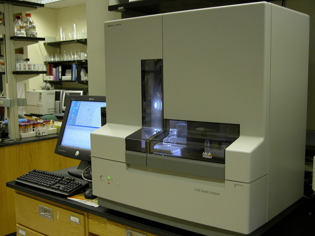 Invention of automated DNA sequencer