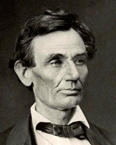Abraham Lincoln visits Lake County