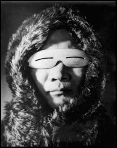 Les lunettes de neige Inuit