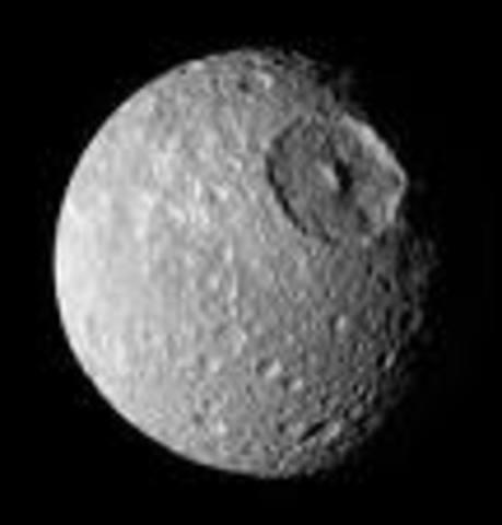 Une lune de Saturne étais découvert