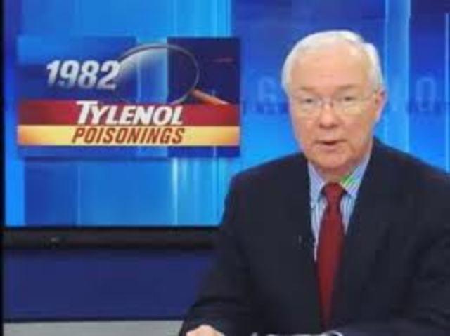 miercoles Aparece el primer anuncio en television solocitando continuar confiando en tylenol