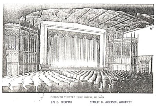 Deerpath Theater built