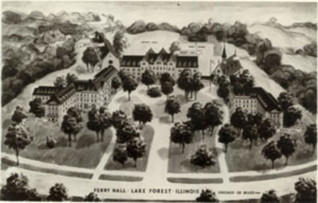 Building at Ferry Hall razed