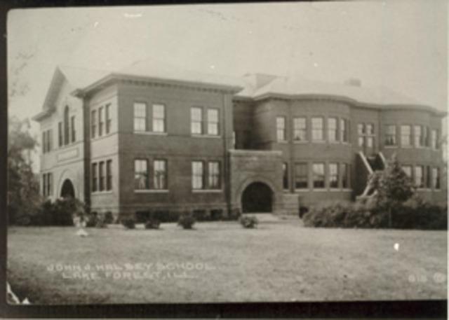 Halsey School is torn down