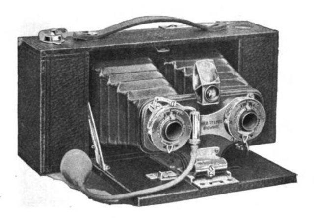 Kodak Stereo Box Brownie