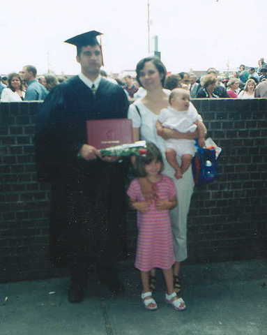 Todd graduates from college