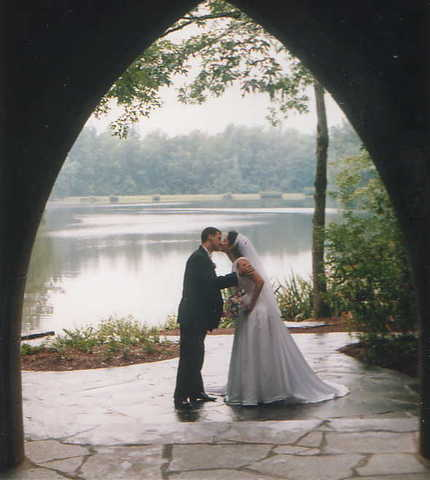 Todd and Patty's wedding day