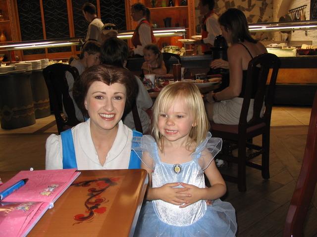 Pricess Dining at Disney