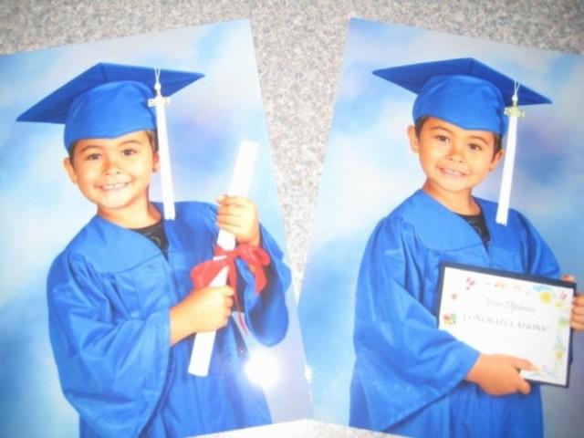 Bryce's Preschool Graduation