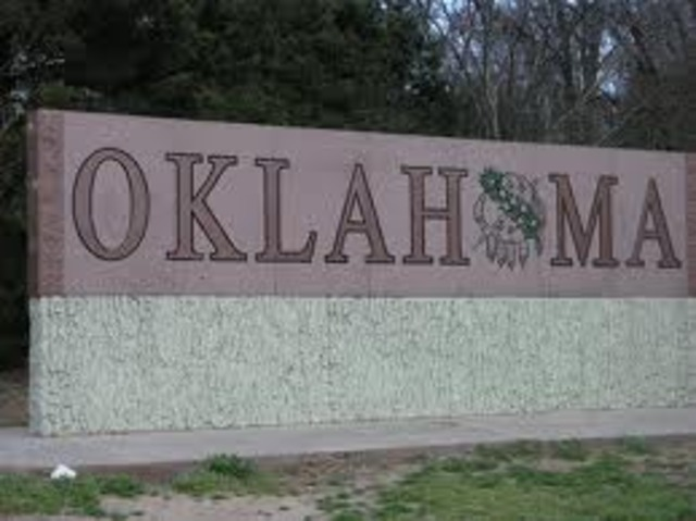 Moved to Oklahoma