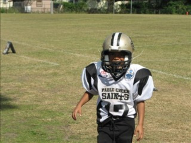 Played Football for Pablo Creek Saints
