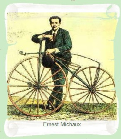 Le vélocipède de Michaux