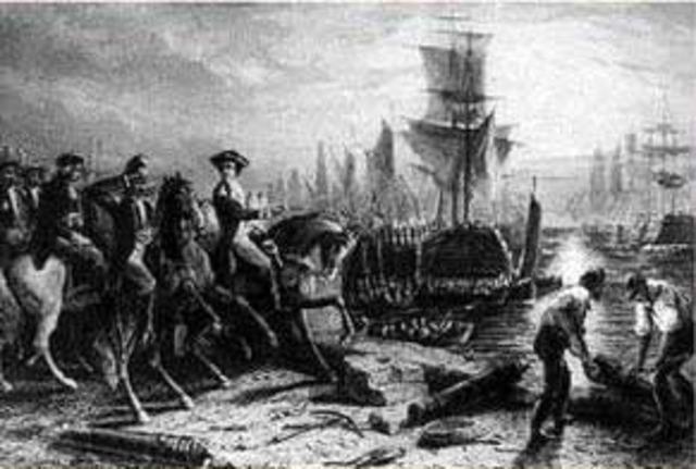The Siege of Boston (The British Abandon Boston)