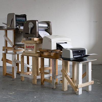 The Evolution of Printers timeline