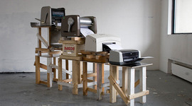 The Evolution of Printers timeline