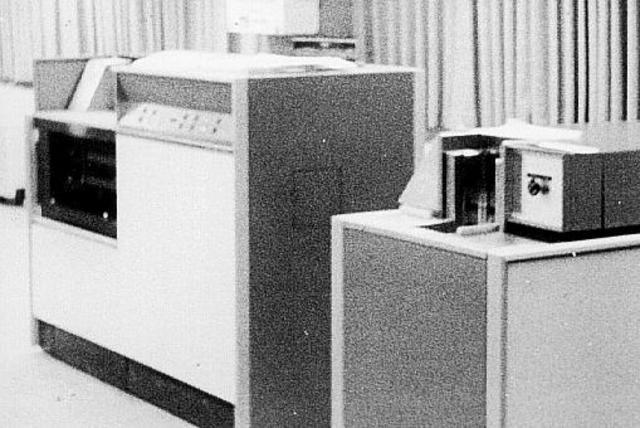 First high speed printer