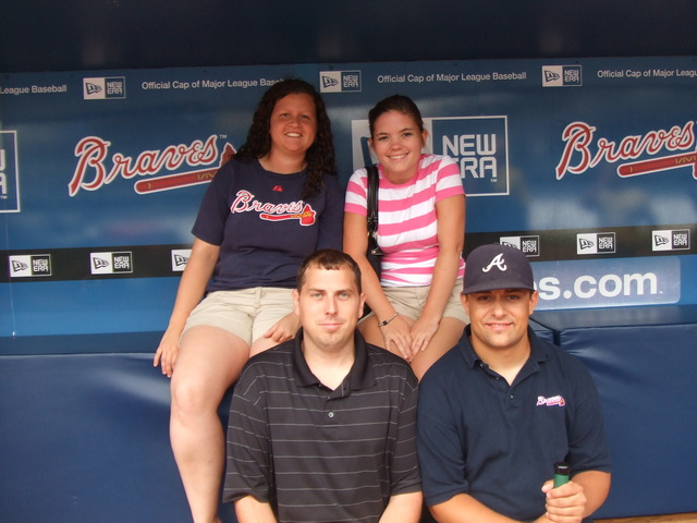Braves Game versus Astros