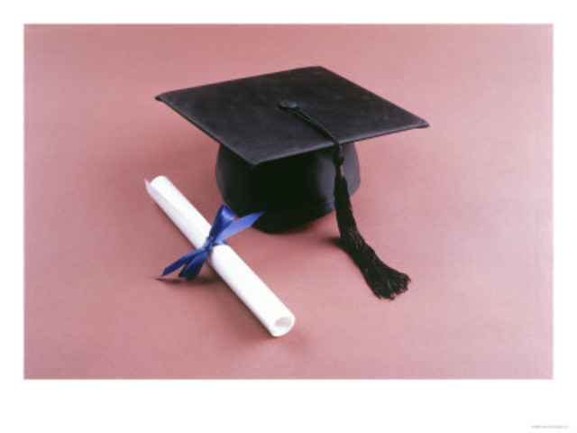 The day I graduated from Vigor High School.