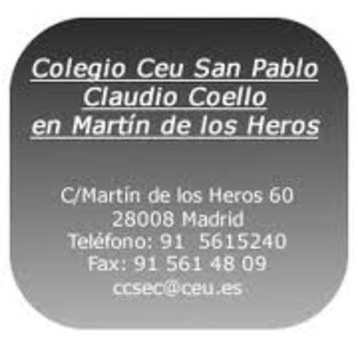 Empiezo el bachillerato en Madrid