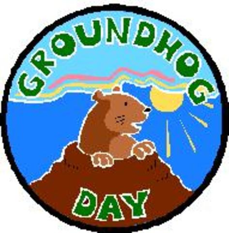 I was born on Groundhog Day!