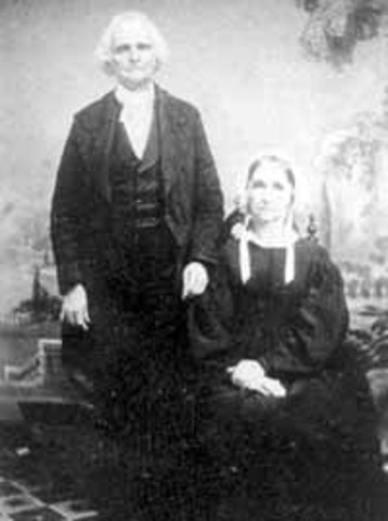 Reverend John Rankin and Wife - Estabished the historic Ripley College and enrolled the first African American Student