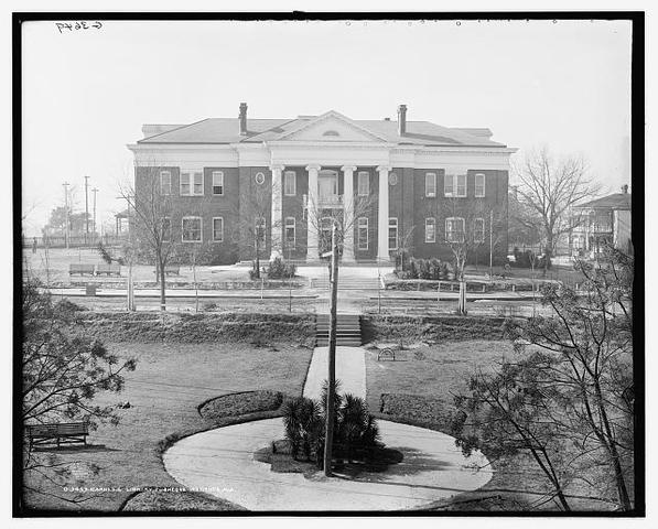 Tuskegee Normal and Industrial Institute is established in Alabama