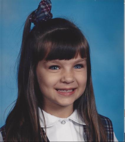 I start 1st grade at Corpus Chrisit Catholic School