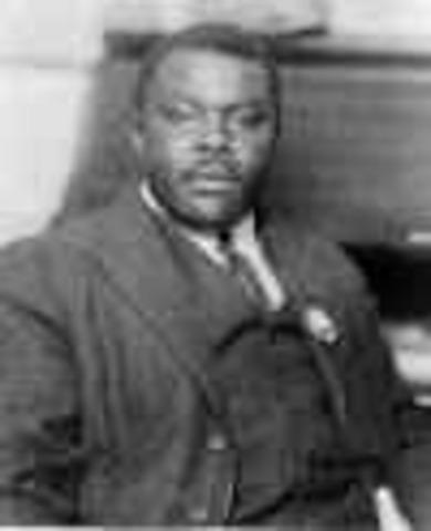 Marcus Garvey-Universal Negro Improvement Association