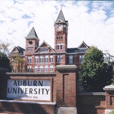 Auburn University timeline