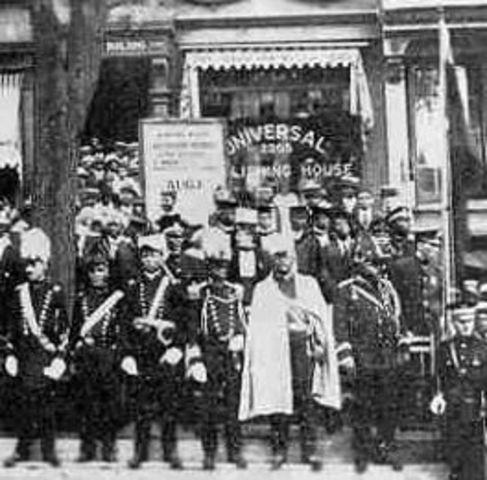 The First Black American mass movement