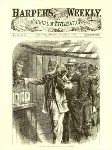 First Black Vote in 1867