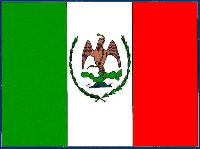 Bandera de Porfirio Díaz