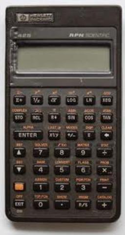First Scientific Desktop Calculator