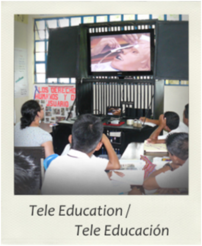 Tele educación llega a latinoamérica.