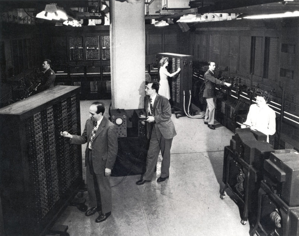 the first operational computer
