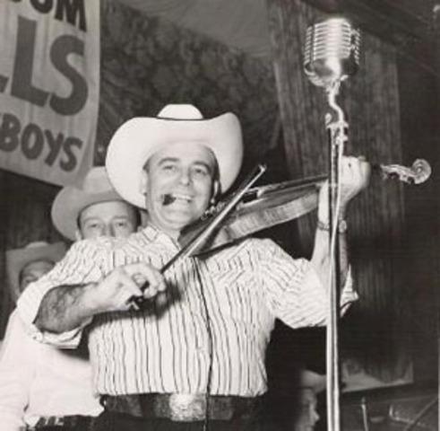 western swing music begins.