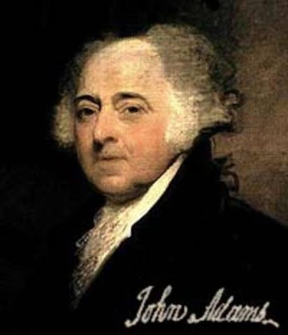 John Adams was born on October 30, 1735