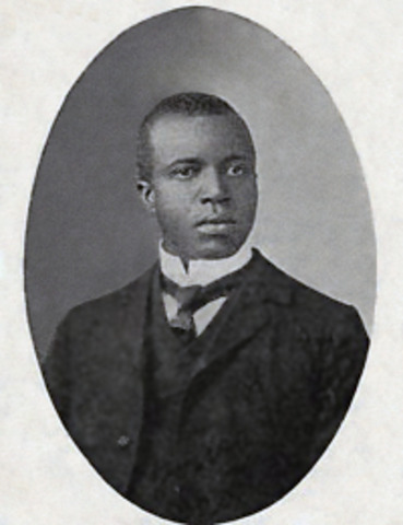 Scott Joplin - Most reowned of ragtime composers