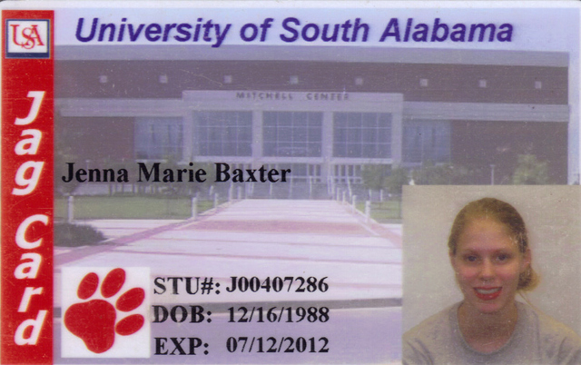 I started attending the University of South Alabama